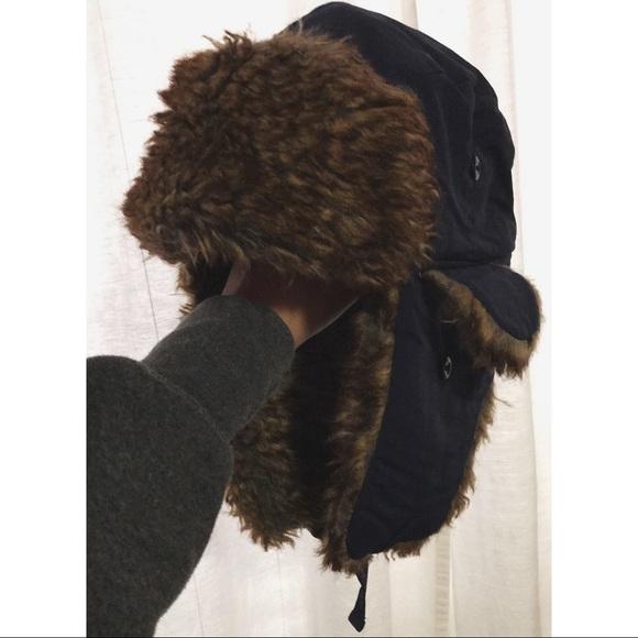 Tough Headwear Trapper Hat with Faux Fur Ear Flaps.  M 5ac3ddd872ea88b0c0488343 e20a05e9dfda